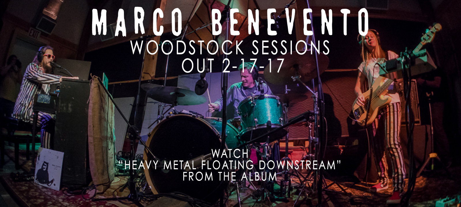 Marco Benevento -- Heavy Metal Floating Downstream -- Woodstock Sessions